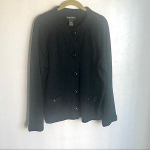 Lane Bryant Black Cardigan Sweater Size 16